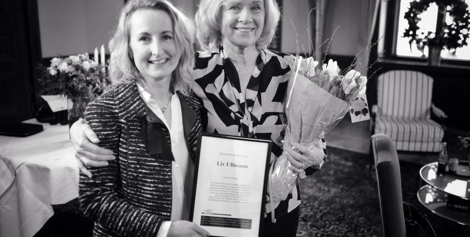Liv Ullmann – årets hedersmedlem